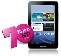 Korting bij NTI + gratis tablet of 50% korting op een Galaxy Tab