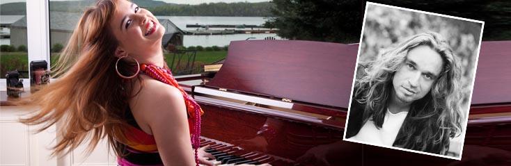 Pianospelen met Jan Vayne